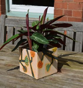 ceramic planter decor
