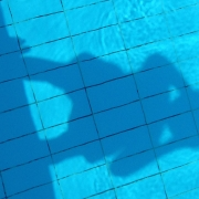 photo of shadow in pool