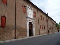 exterior of Palazzo Schifanioa