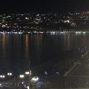nocturnal shot of bay of Naples